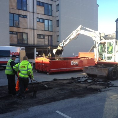 Carpark repairs Aberdeen